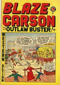 Cover Thumbnail for Blaze Carson (Marvel, 1948 series) #4