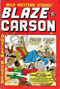 Cover Thumbnail for Blaze Carson (Marvel, 1948 series) #5