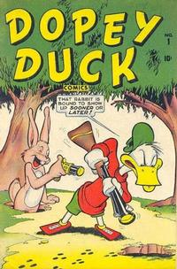 Cover Thumbnail for Dopey Duck (Marvel, 1945 series) #1