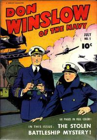 Cover Thumbnail for Don Winslow of the Navy (Fawcett, 1943 series) #5
