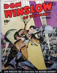 Cover Thumbnail for Don Winslow of the Navy (Fawcett, 1943 series) #9