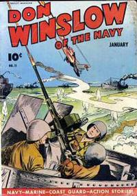 Cover Thumbnail for Don Winslow of the Navy (Fawcett, 1943 series) #11