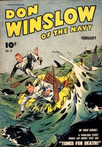 Cover Thumbnail for Don Winslow of the Navy (Fawcett, 1943 series) #12
