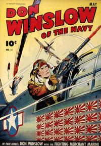 Cover Thumbnail for Don Winslow of the Navy (Fawcett, 1943 series) #15
