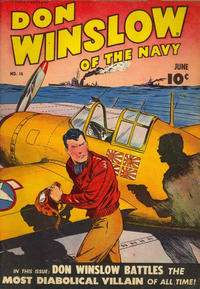 Cover Thumbnail for Don Winslow of the Navy (Fawcett, 1943 series) #16