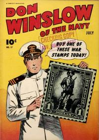 Cover Thumbnail for Don Winslow of the Navy (Fawcett, 1943 series) #17