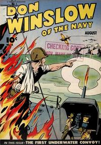 Cover Thumbnail for Don Winslow of the Navy (Fawcett, 1943 series) #18