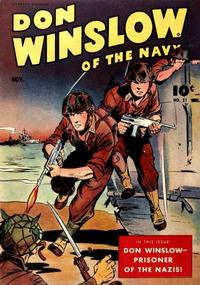 Cover Thumbnail for Don Winslow of the Navy (Fawcett, 1943 series) #21