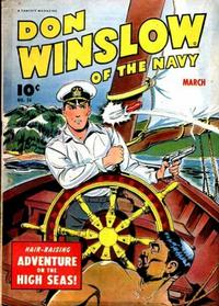 Cover Thumbnail for Don Winslow of the Navy (Fawcett, 1943 series) #24