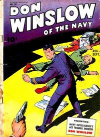 Cover Thumbnail for Don Winslow of the Navy (Fawcett, 1943 series) #28