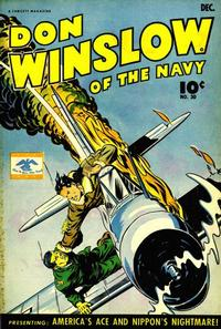 Cover Thumbnail for Don Winslow of the Navy (Fawcett, 1943 series) #30