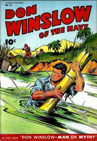 Cover Thumbnail for Don Winslow of the Navy (Fawcett, 1943 series) #31
