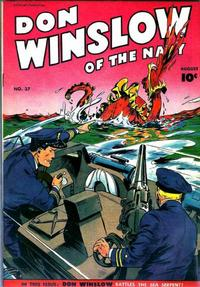 Cover Thumbnail for Don Winslow of the Navy (Fawcett, 1943 series) #37