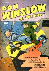 Cover Thumbnail for Don Winslow of the Navy (Fawcett, 1943 series) #46