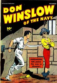 Cover Thumbnail for Don Winslow of the Navy (Fawcett, 1943 series) #51