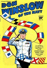 Cover Thumbnail for Don Winslow of the Navy (Fawcett, 1943 series) #53