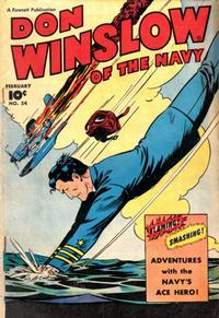Cover Thumbnail for Don Winslow of the Navy (Fawcett, 1943 series) #54