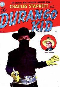 Cover Thumbnail for Charles Starrett as the Durango Kid (Magazine Enterprises, 1949 series) #1