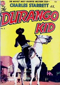 Cover Thumbnail for Charles Starrett as the Durango Kid (Magazine Enterprises, 1949 series) #2