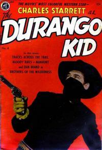 Cover Thumbnail for Charles Starrett as the Durango Kid (Magazine Enterprises, 1949 series) #4