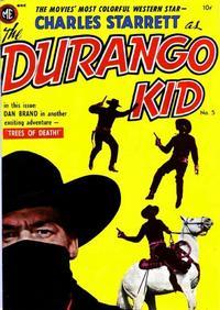Cover Thumbnail for Charles Starrett as the Durango Kid (Magazine Enterprises, 1949 series) #5