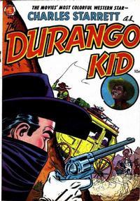 Cover Thumbnail for Charles Starrett as the Durango Kid (Magazine Enterprises, 1949 series) #6