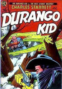 Cover Thumbnail for Charles Starrett as the Durango Kid (Magazine Enterprises, 1949 series) #7