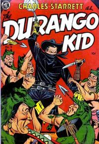 Cover Thumbnail for Charles Starrett as the Durango Kid (Magazine Enterprises, 1949 series) #8