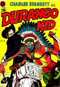 Cover Thumbnail for Charles Starrett as the Durango Kid (Magazine Enterprises, 1949 series) #9