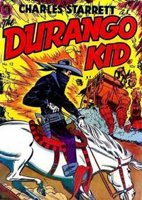 Cover Thumbnail for Charles Starrett as the Durango Kid (Magazine Enterprises, 1949 series) #12