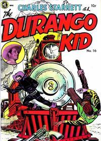 Cover Thumbnail for Charles Starrett as the Durango Kid (Magazine Enterprises, 1949 series) #16