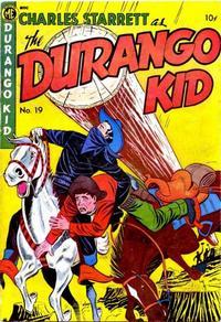 Cover Thumbnail for Charles Starrett as the Durango Kid (Magazine Enterprises, 1949 series) #19