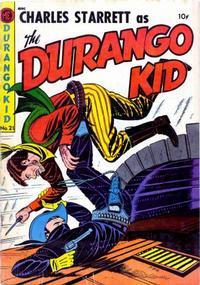Cover Thumbnail for Charles Starrett as the Durango Kid (Magazine Enterprises, 1949 series) #21