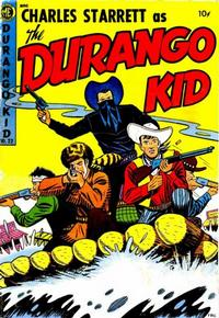 Cover Thumbnail for Charles Starrett as the Durango Kid (Magazine Enterprises, 1949 series) #22