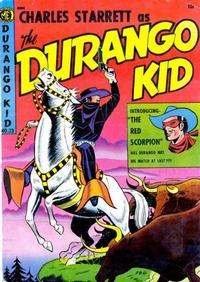 Cover Thumbnail for Charles Starrett as the Durango Kid (Magazine Enterprises, 1949 series) #23