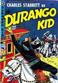 Cover Thumbnail for Charles Starrett as the Durango Kid (Magazine Enterprises, 1949 series) #24