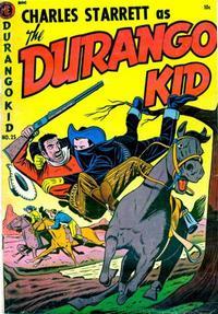 Cover Thumbnail for Charles Starrett as the Durango Kid (Magazine Enterprises, 1949 series) #25