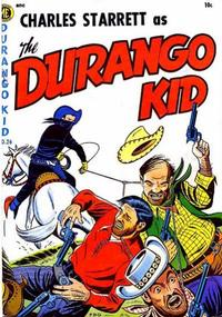 Cover Thumbnail for Charles Starrett as the Durango Kid (Magazine Enterprises, 1949 series) #26