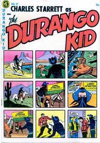 Cover Thumbnail for Charles Starrett as the Durango Kid (Magazine Enterprises, 1949 series) #27