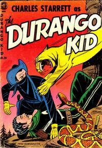 Cover Thumbnail for Charles Starrett as the Durango Kid (Magazine Enterprises, 1949 series) #28
