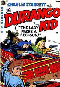 Cover Thumbnail for Charles Starrett as the Durango Kid (Magazine Enterprises, 1949 series) #29