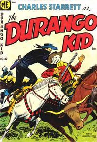 Cover Thumbnail for Charles Starrett as the Durango Kid (Magazine Enterprises, 1949 series) #32