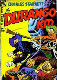 Cover Thumbnail for Charles Starrett as the Durango Kid (Magazine Enterprises, 1949 series) #34