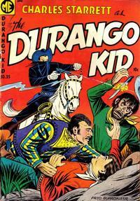 Cover Thumbnail for Charles Starrett as the Durango Kid (Magazine Enterprises, 1949 series) #35