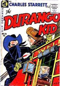 Cover Thumbnail for Charles Starrett as the Durango Kid (Magazine Enterprises, 1949 series) #36