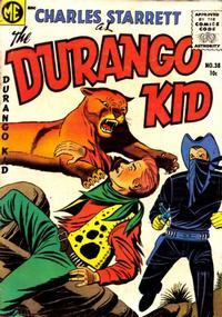 Cover for Charles Starrett as the Durango Kid (Magazine Enterprises, 1949 series) #38