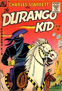 Cover Thumbnail for Charles Starrett as the Durango Kid (Magazine Enterprises, 1949 series) #39