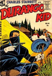 Cover Thumbnail for Charles Starrett as the Durango Kid (Magazine Enterprises, 1949 series) #40