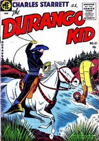 Cover Thumbnail for Charles Starrett as the Durango Kid (Magazine Enterprises, 1949 series) #41