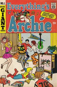 Cover for Everything's Archie (Archie, 1969 series) #1